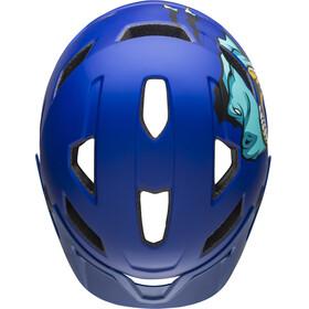Bell Sidetrack Helmet Children t-rex matte blue